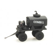 387290 Mobile Fuel Trailer combi (HO scale 1/87th)